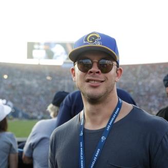 Nov 26 - Jimmy Tatro (Credit - Will Navarro, LA Rams)