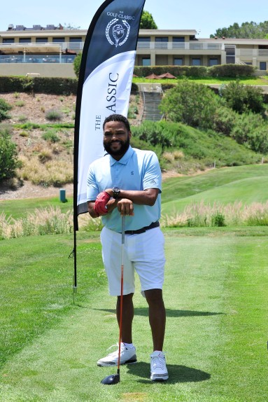 , Los Angeles, CA - 7/16/2018 - The Golf Classic powered by Glenlivet, Malbon Golf, and Talent Resources Sports to benefit Athletes vs. Cancer at Braemar Country Club. -PICTURED: Anthony Anderson -PHOTO by: Michael Simon/startraksphoto.com -MS_10341 Editorial - Rights Managed Image - Please contact www.startraksphoto.com for licensing fee Startraks Photo New York, NY For licensing please call 212-414-9464 or email sales@startraksphoto.com Startraks Photo reserves the right to pursue unauthorized users of this image. If you violate our intellectual property you may be liable for actual damages, loss of income, and profits you derive from the use of this image, and where appropriate, the cost of collection and/or statutory damages.